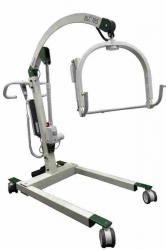 Patientenlifter BLC 185 incl. elektrisch spreizbarem Fahrgestell und Dreh-Kippbügel für Clip-Gurte